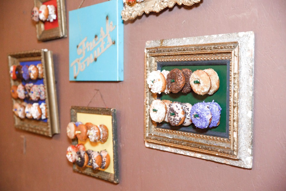 Cool donut wall display