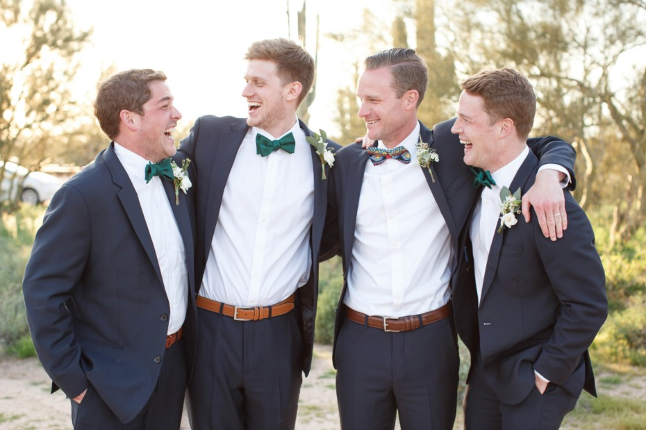 Groomsmen just wanna have fun
