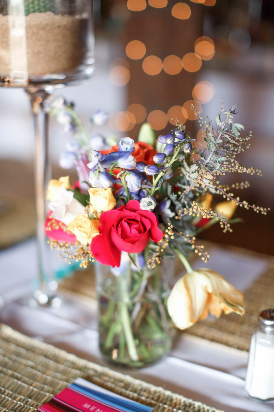 Chic little centerpiece