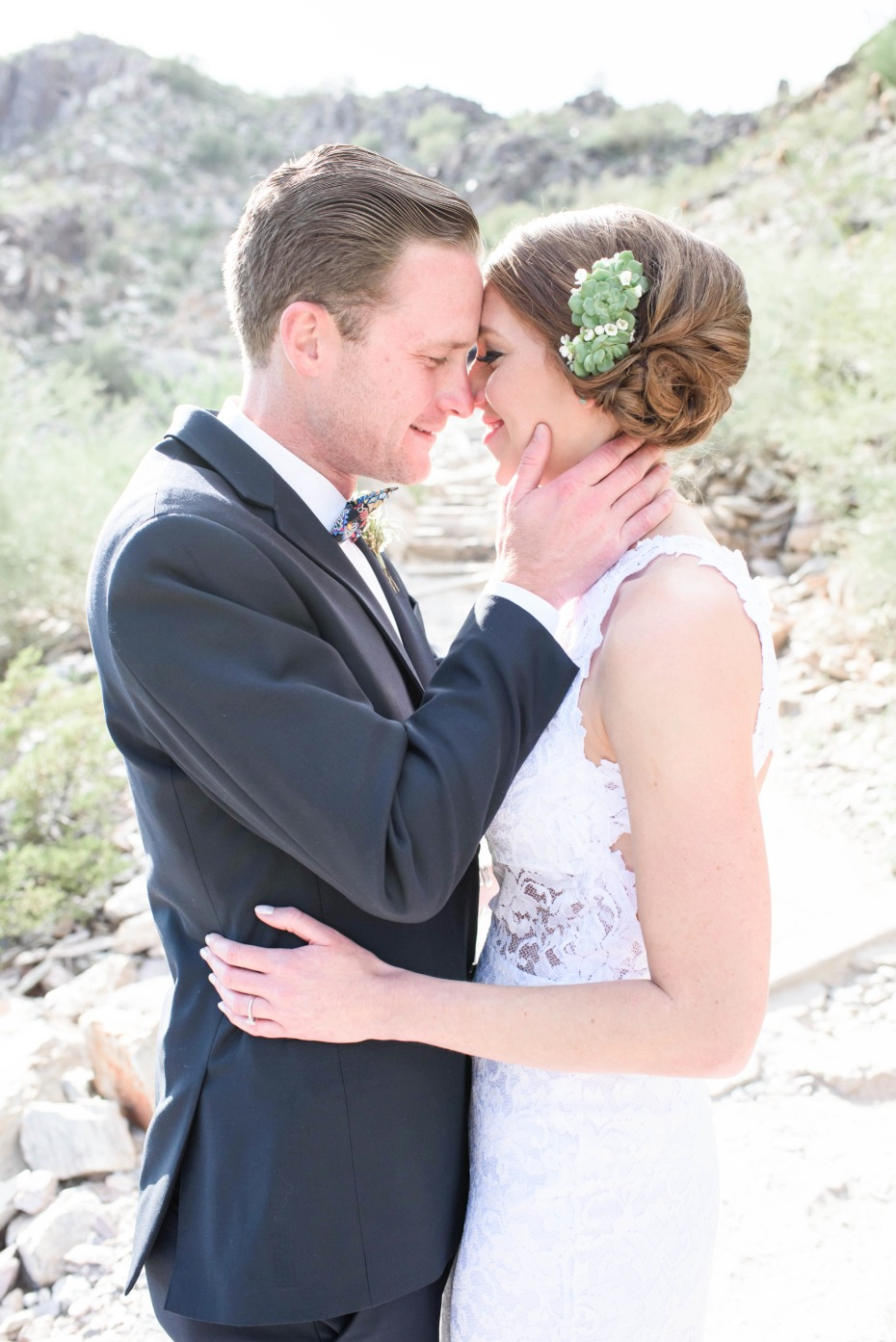 Beautiful desert wedding in Arizona