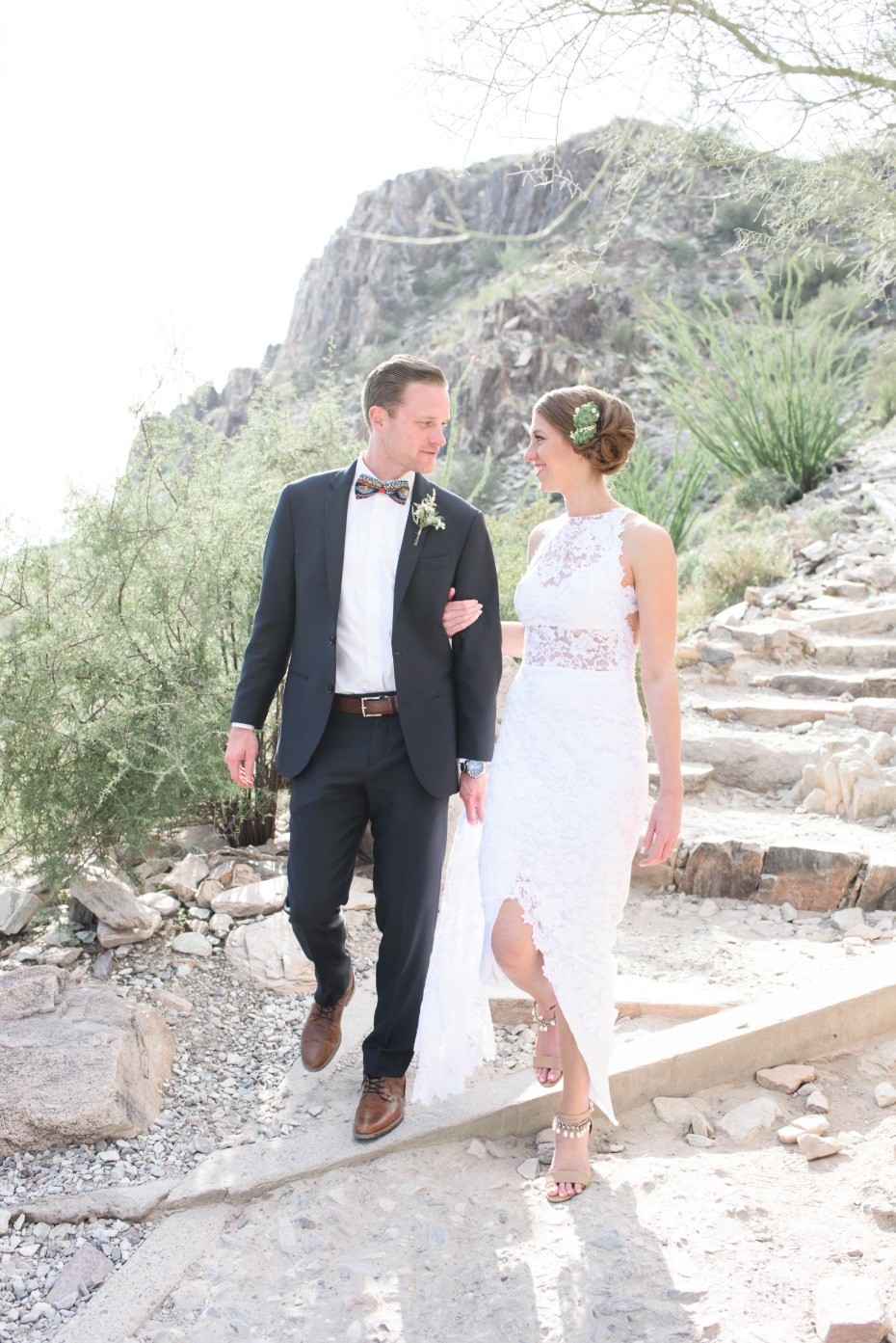 Gorgeous desert wedding in Arizona