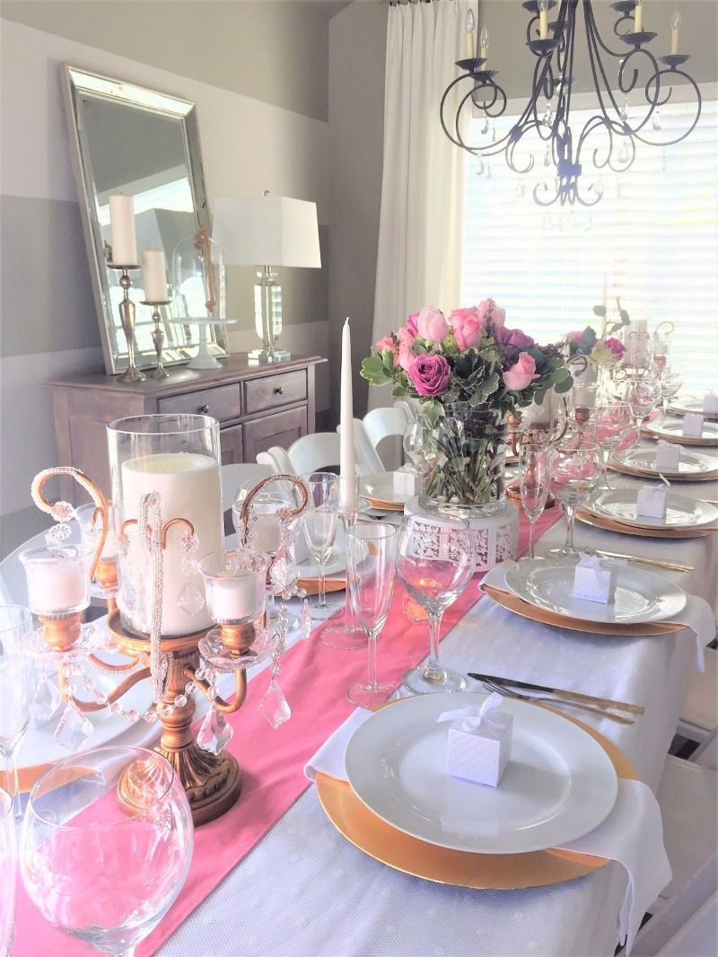 Set a Beautiful Rehearsal Dinner Table with Opulent Treasures