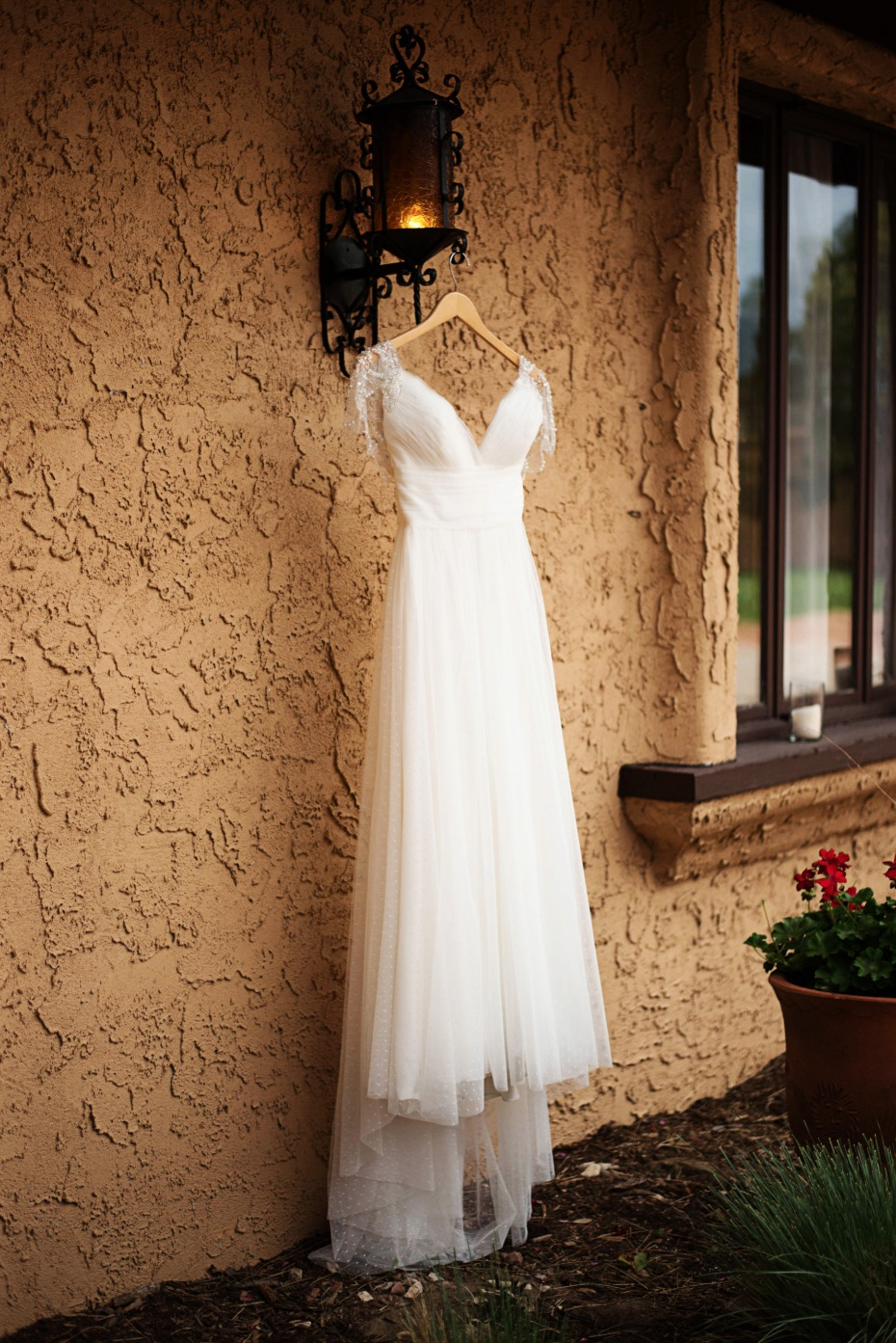 wedding dress from Watters