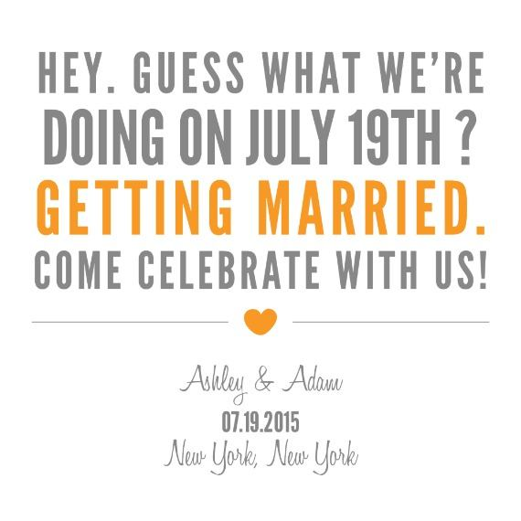 Print: Guess What Free Printable Save The Date