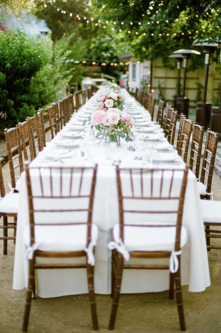 Chic Backyard Garden Wedding at their Family Home