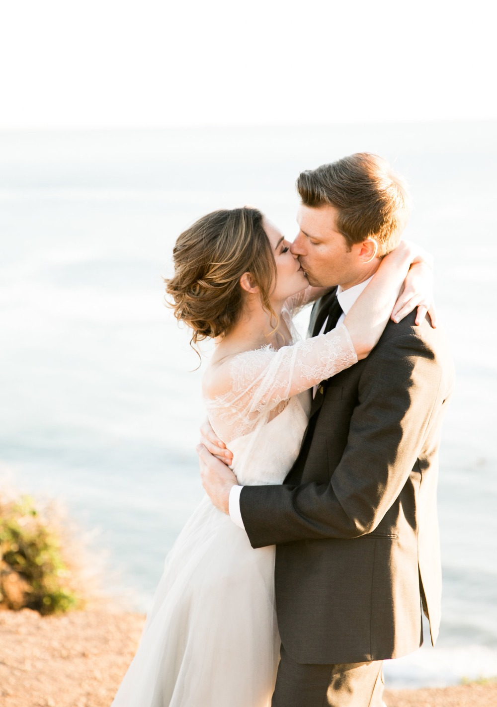 It's All About Love and Support At This Beach Wedding Shoot