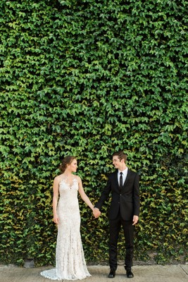You'll Feel Enchanted After Seeing This European Style Patio Wedding