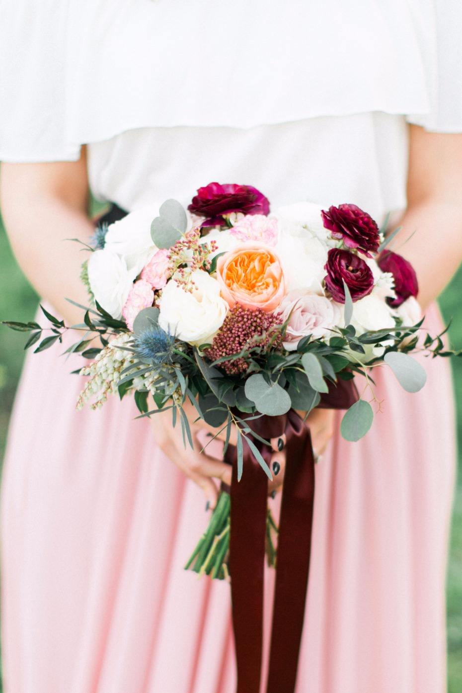 wedding bouquet for your late summer early fall wedding