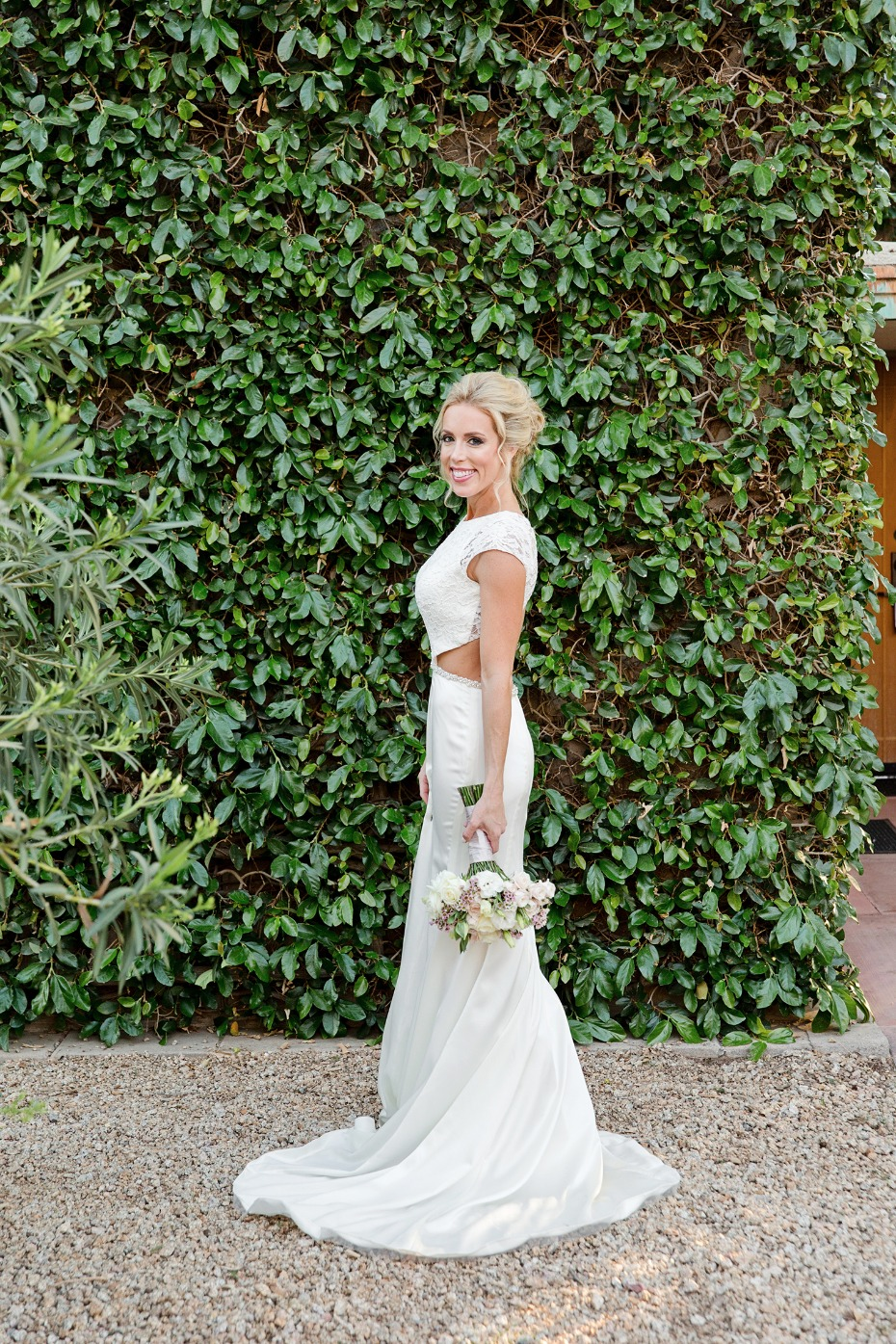 bridal look for your glam wedding day
