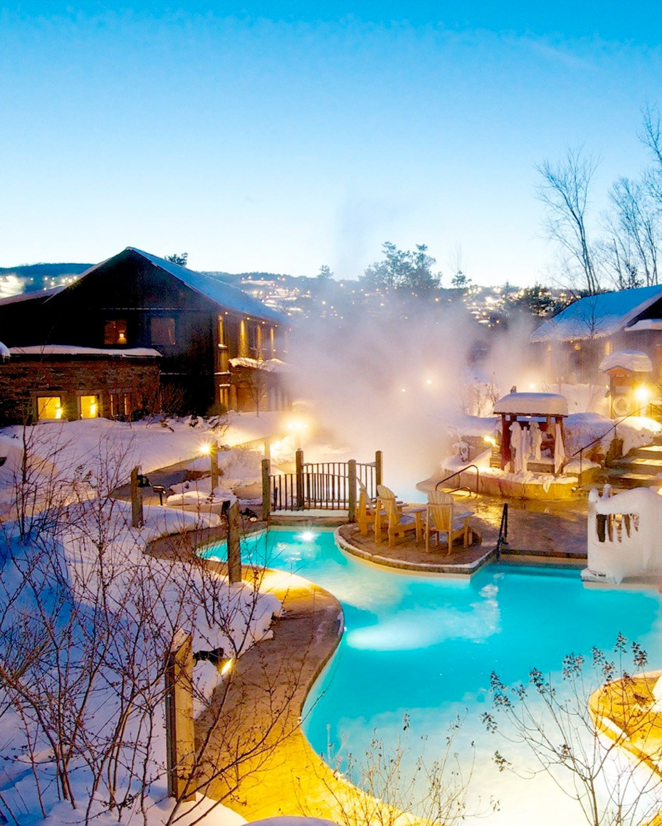 Scandinave Spa is Blue Mountain, Canada