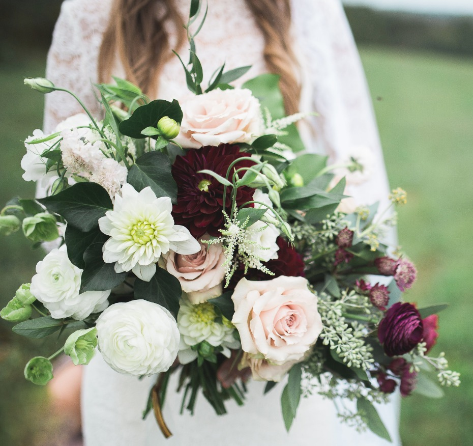 Romantic bouquet from Hedge Fine Blooms