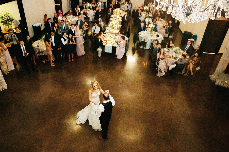 Memorable first dance