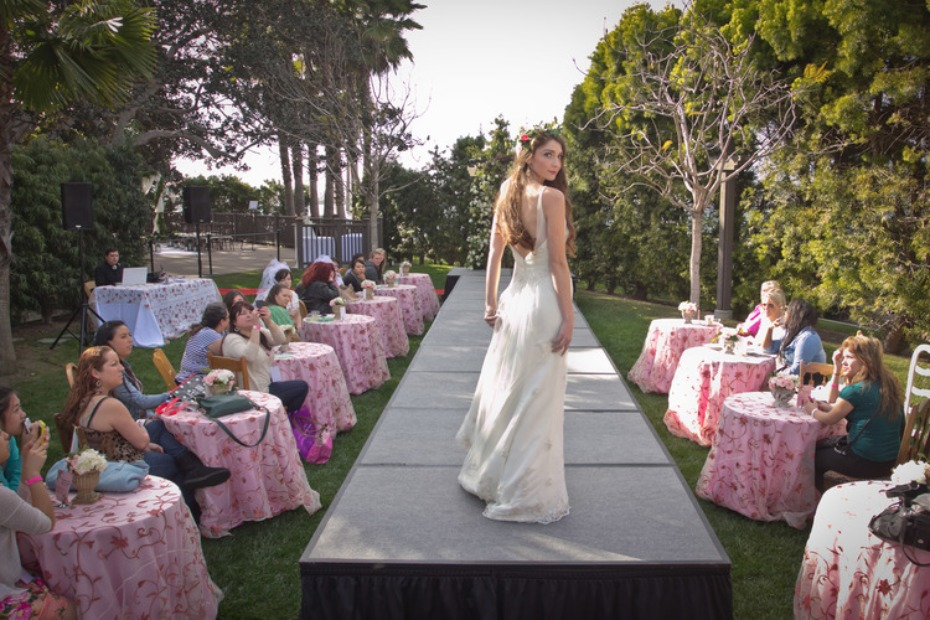 fashion show at the San Diego Wedding Party Expo