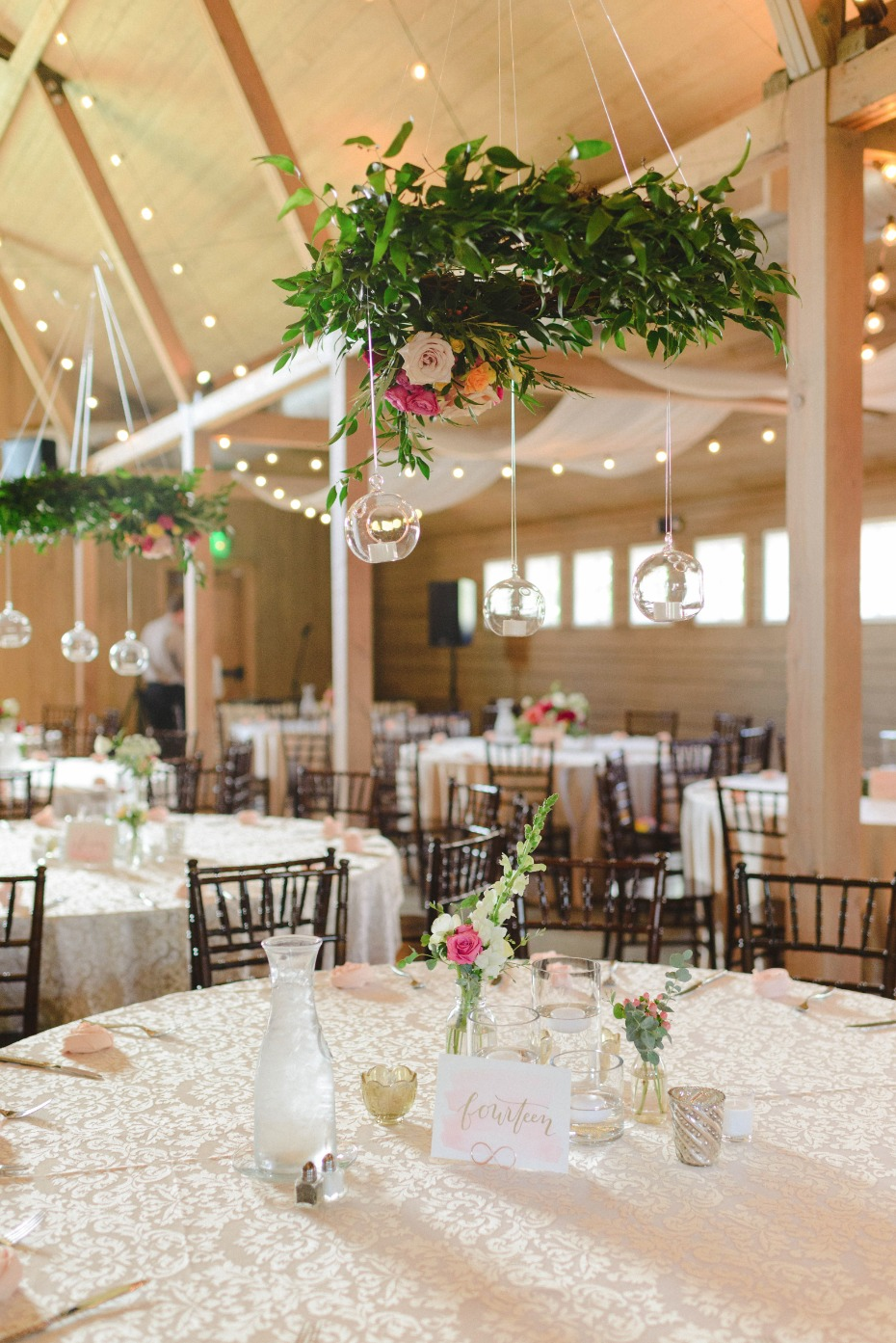 boho chic wedding reception ideas
