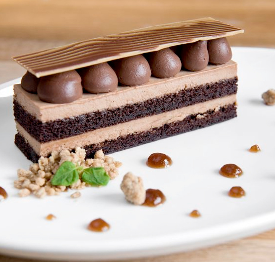 Chocolate Guiness Cake from The Ballantyne Hotel