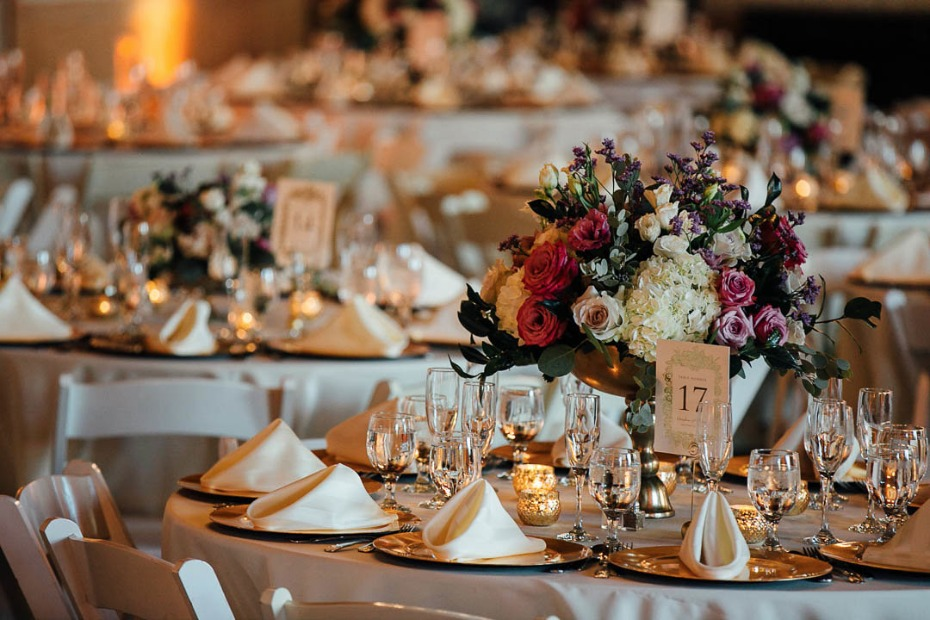 Gorgeous table setting details