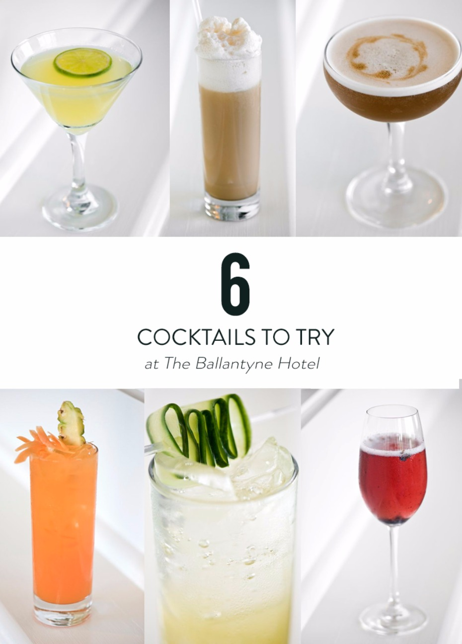 6 hand crafted cocktails that you have to try