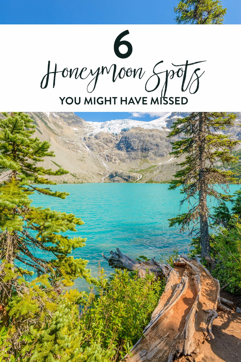 6 honeymoon spots that you may have missed