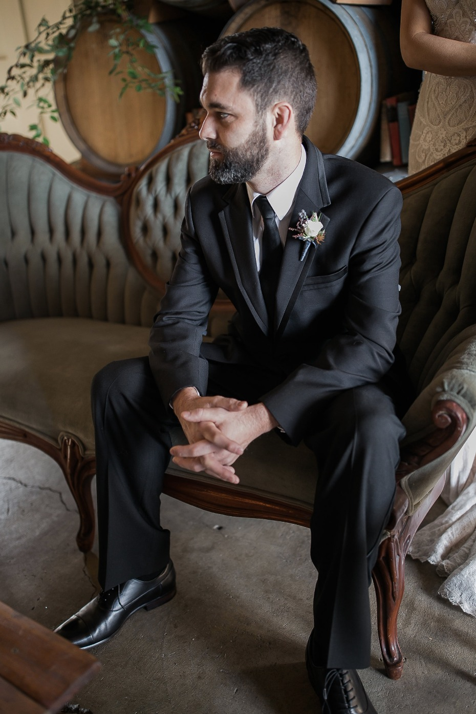 formal groom attire for your winery wedding