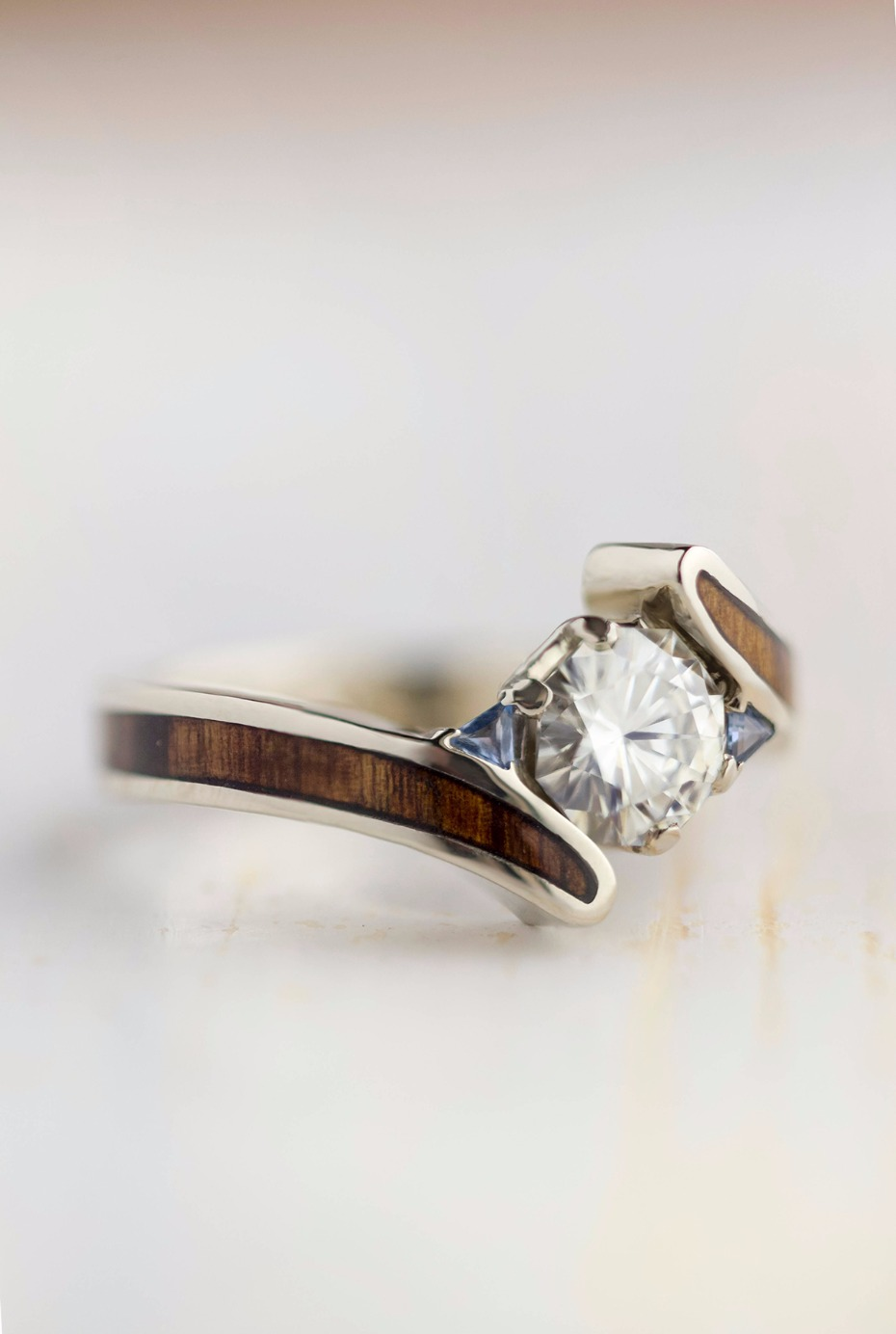 Wood Engagement Ring