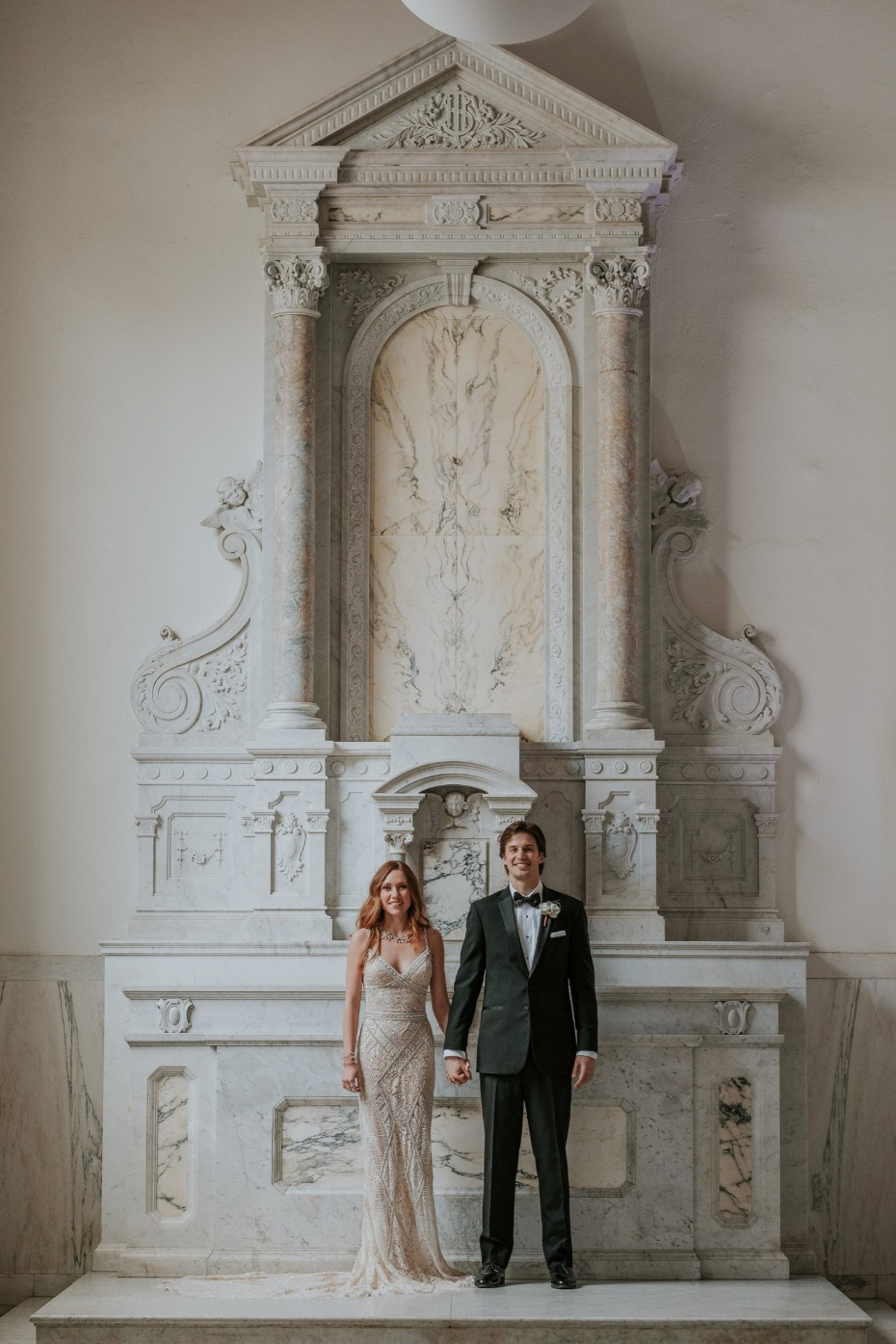 Marble cathedral backdrop