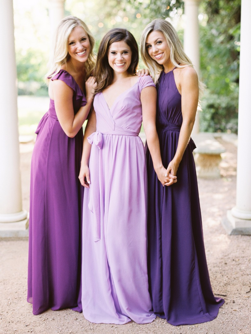 Bridesmaids don't stand by us for a day. They stand by us forever.💜
