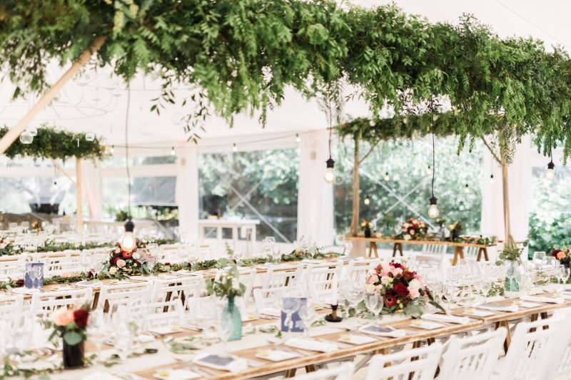Tablescape from our real wedding with Vânia & Diogo at Os Agostos.