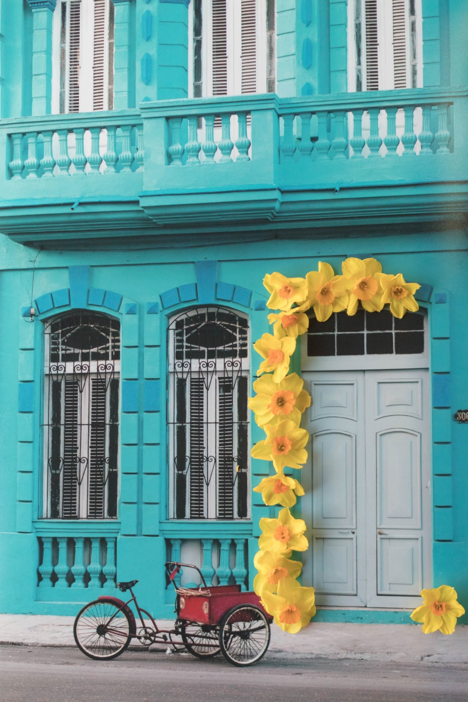 Floral ideas from Old Havana