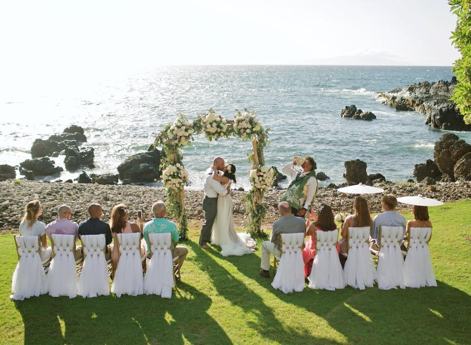 just married in Hawaii