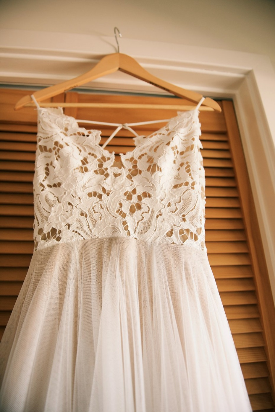 simple and sweet wedding dress