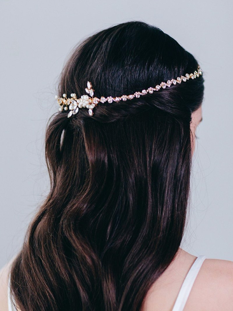 Vivie Headpiece. A little bit extra for your big day.