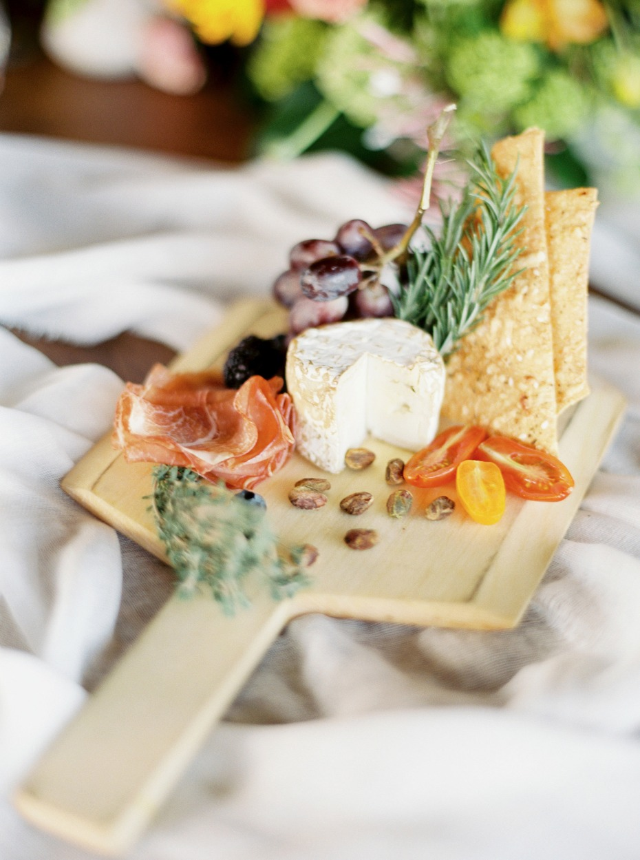 Yummy cheese platter