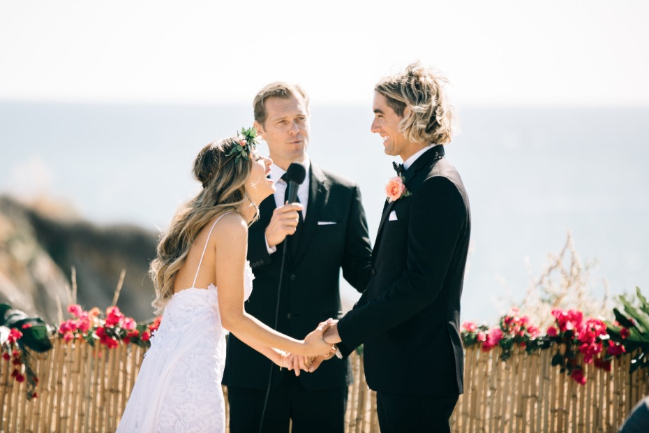 have your wedding ceremony at the beach like this one