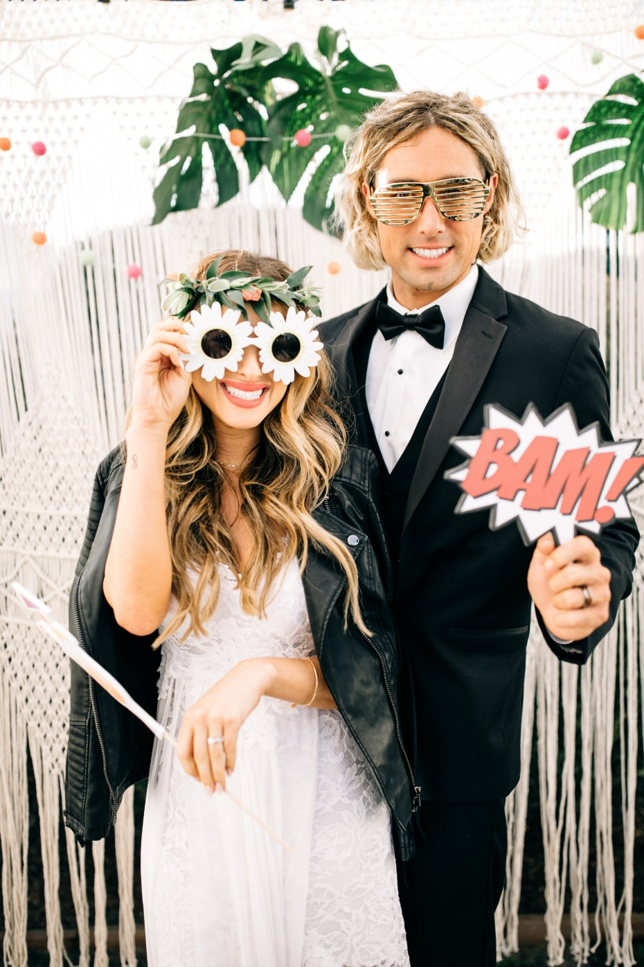 on trend stylish photo booth