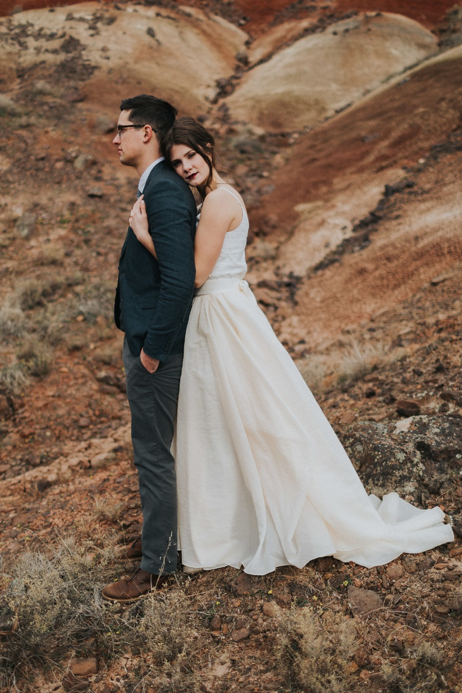 Painted Hills wedding vow renewal