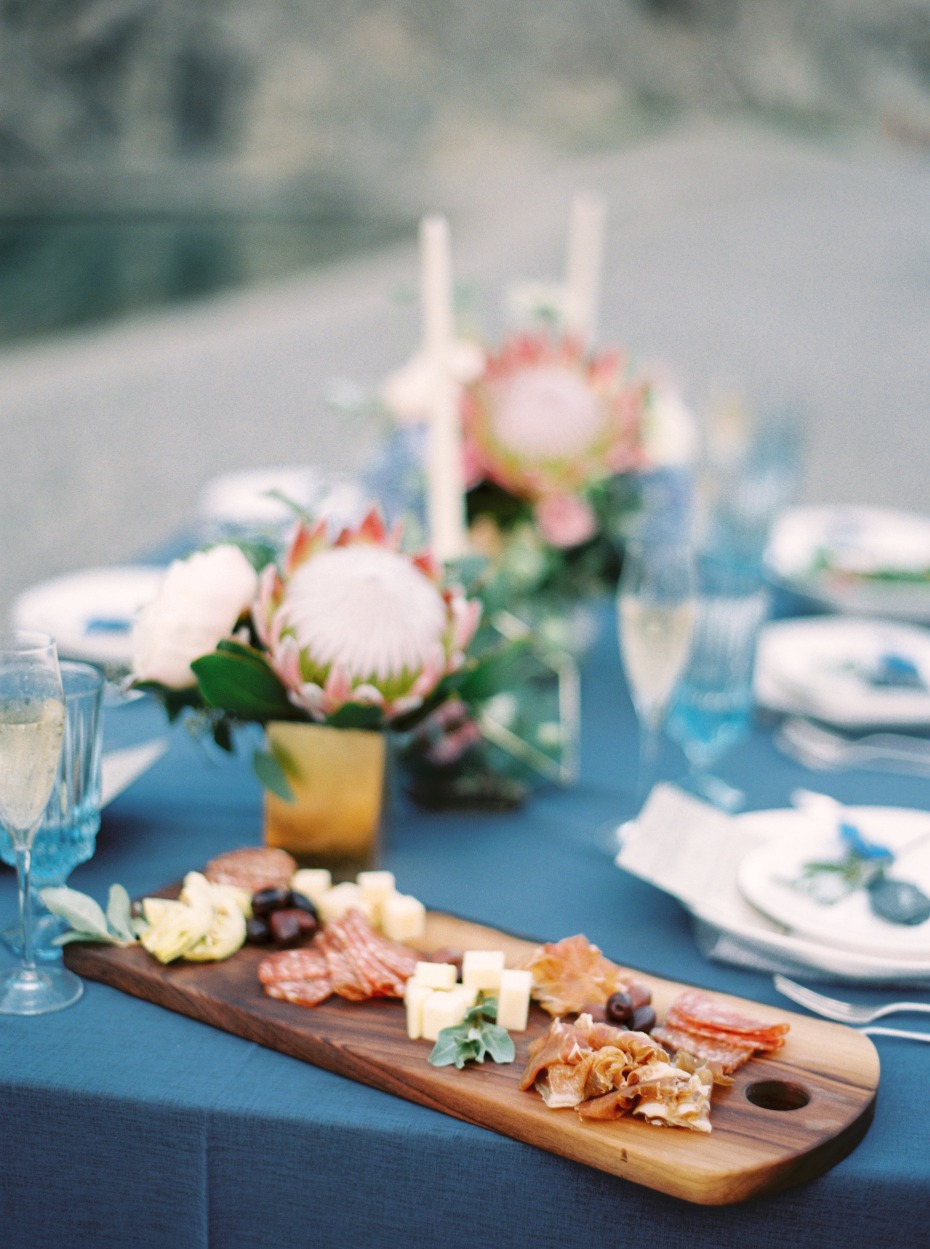 wedding spread for your intimate elopement