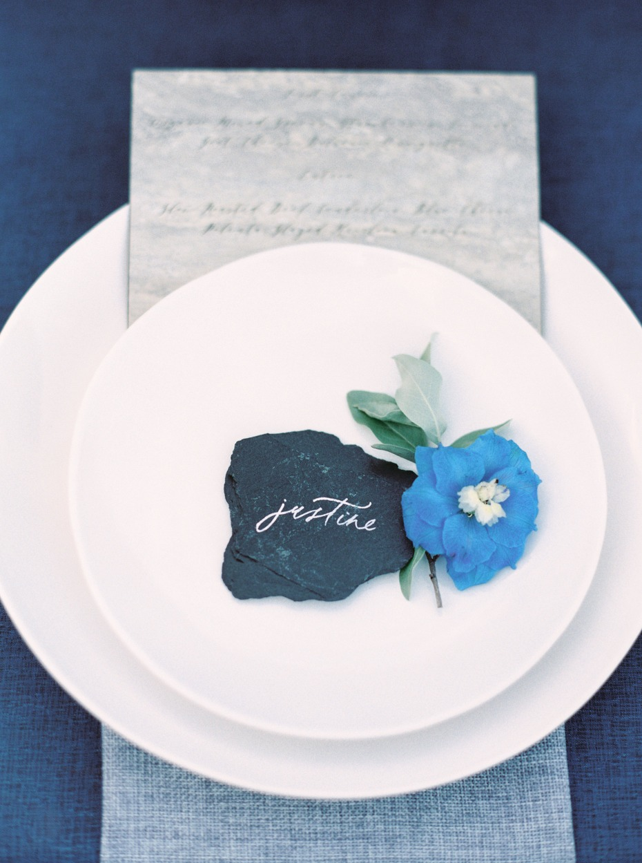 slate place cards