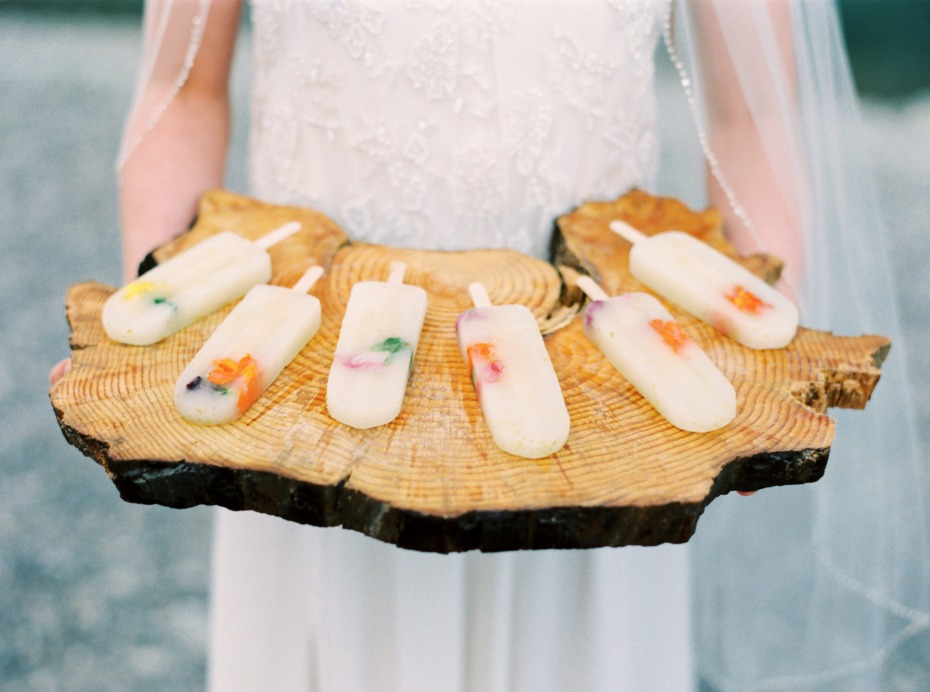 gourmet wedding popsicles
