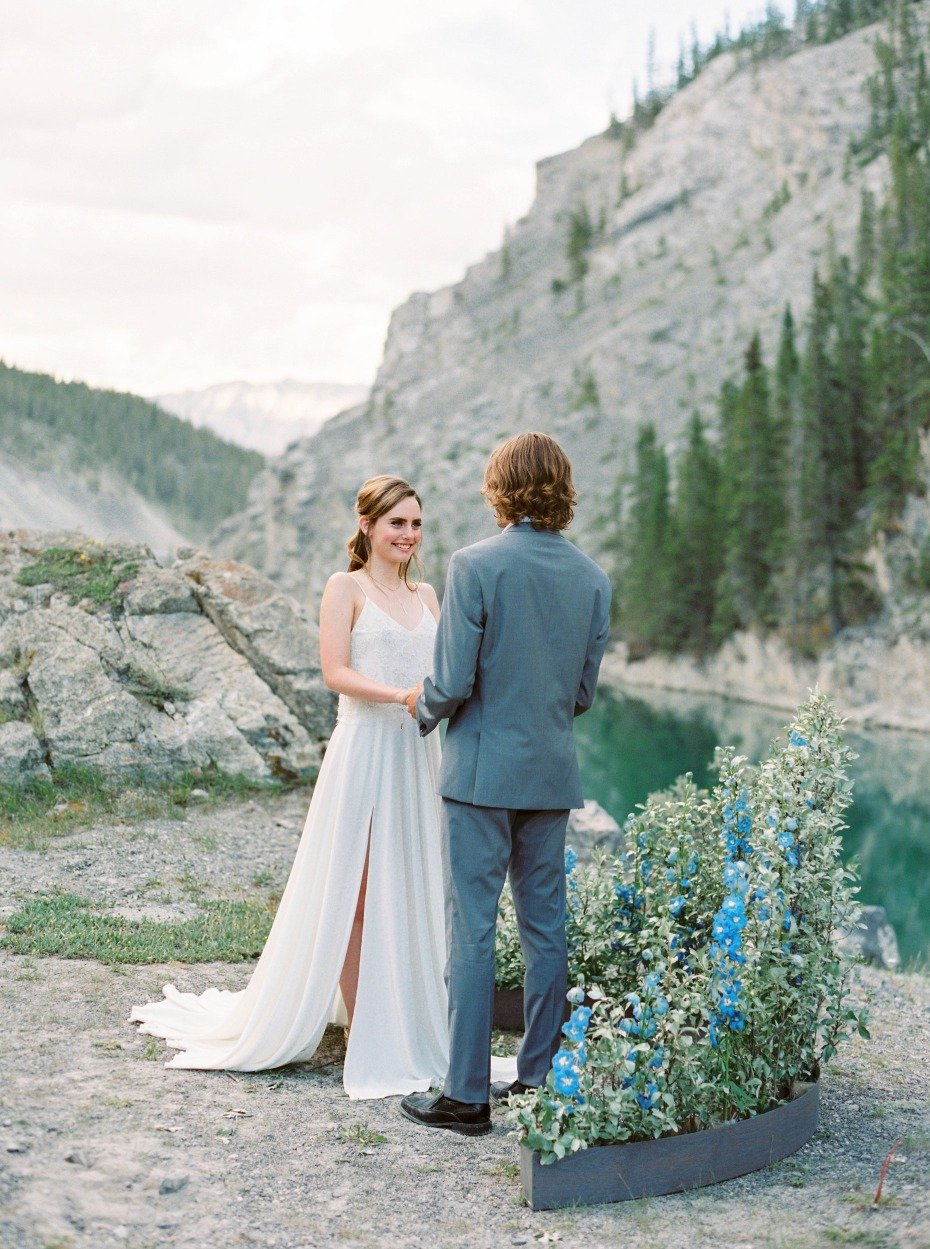 breath take mountain view for your ceremony