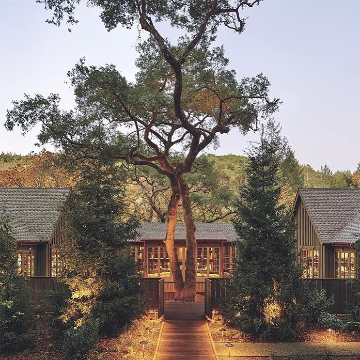 Inspiration Image from MEADOWOOD, NAPA CA