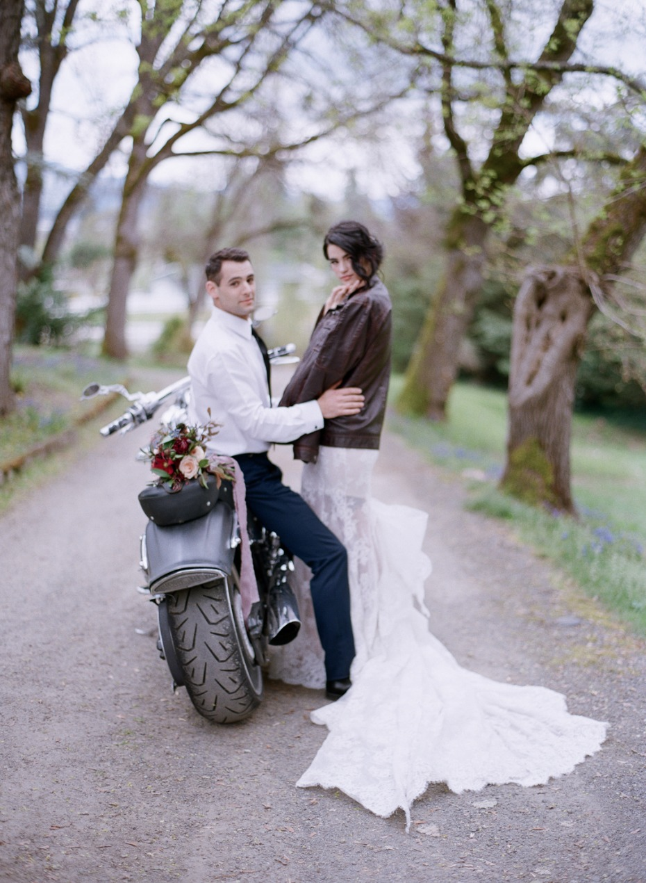 Quick getaway for the bride and groom