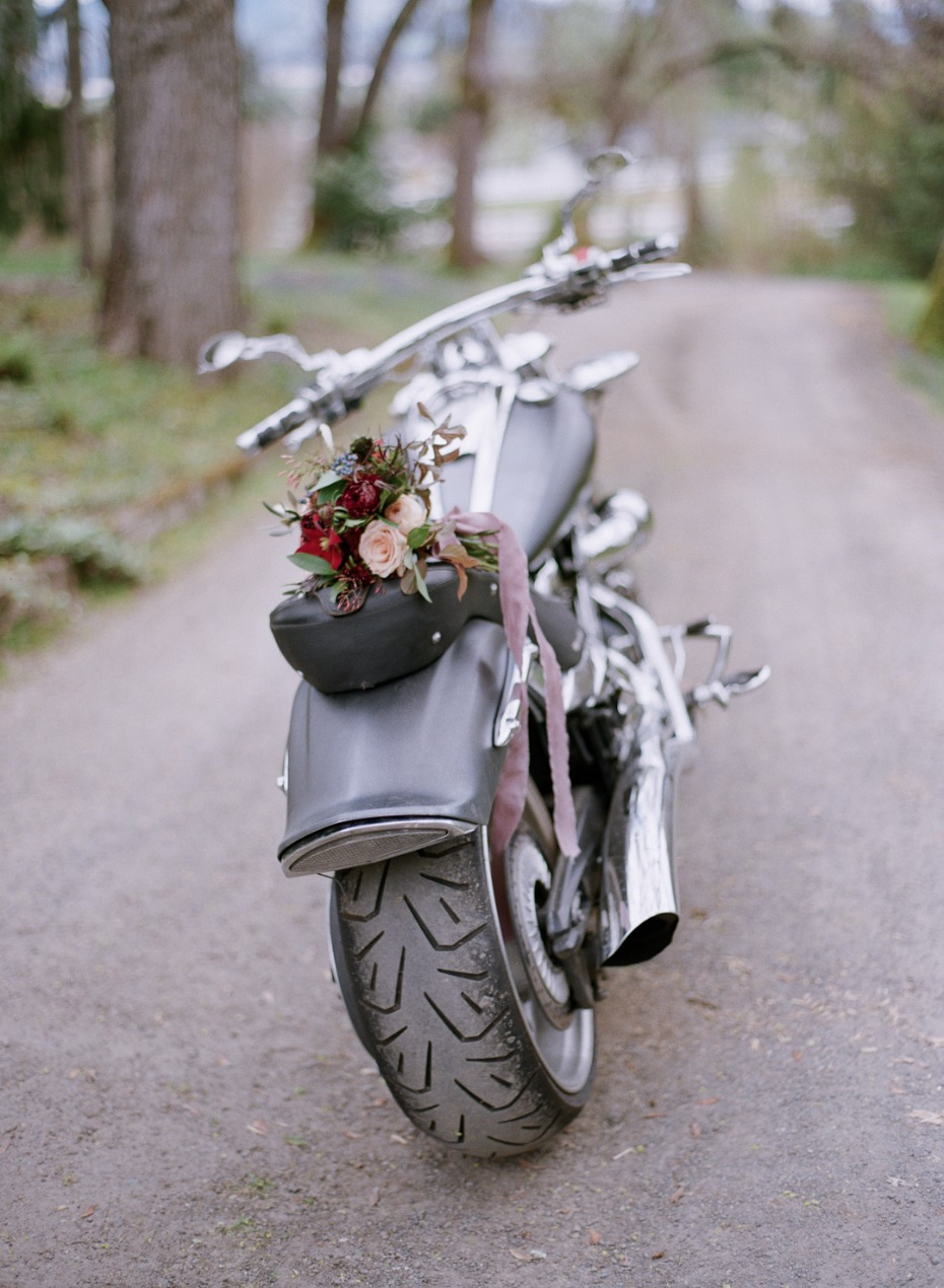 Motorcycle ride for two
