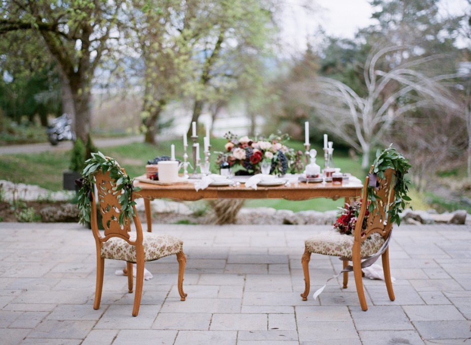 European inspired tablescape