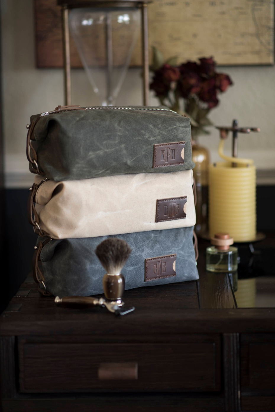 dopp kits for groomsmen