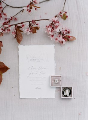 It's all About the Details in this Luxury European Elopement Shoot