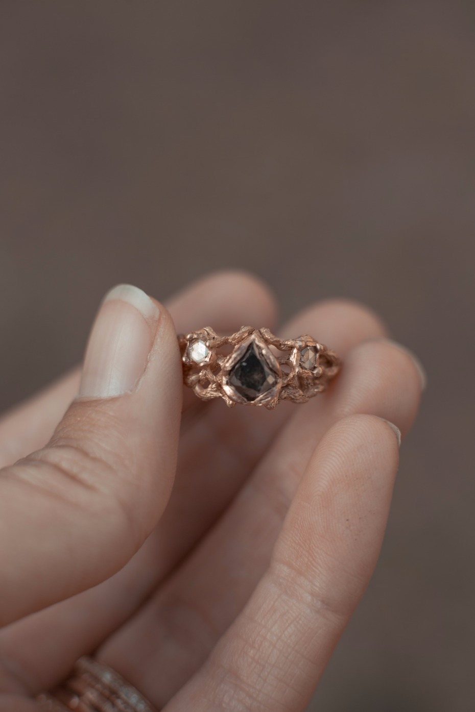 unique and magical engagement ring from Rhodes Wedding Co.