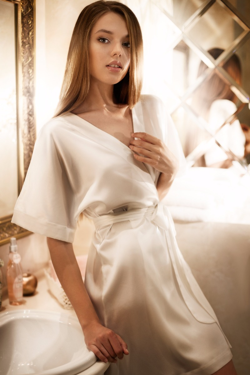 Perfect Robe for Bride Morning