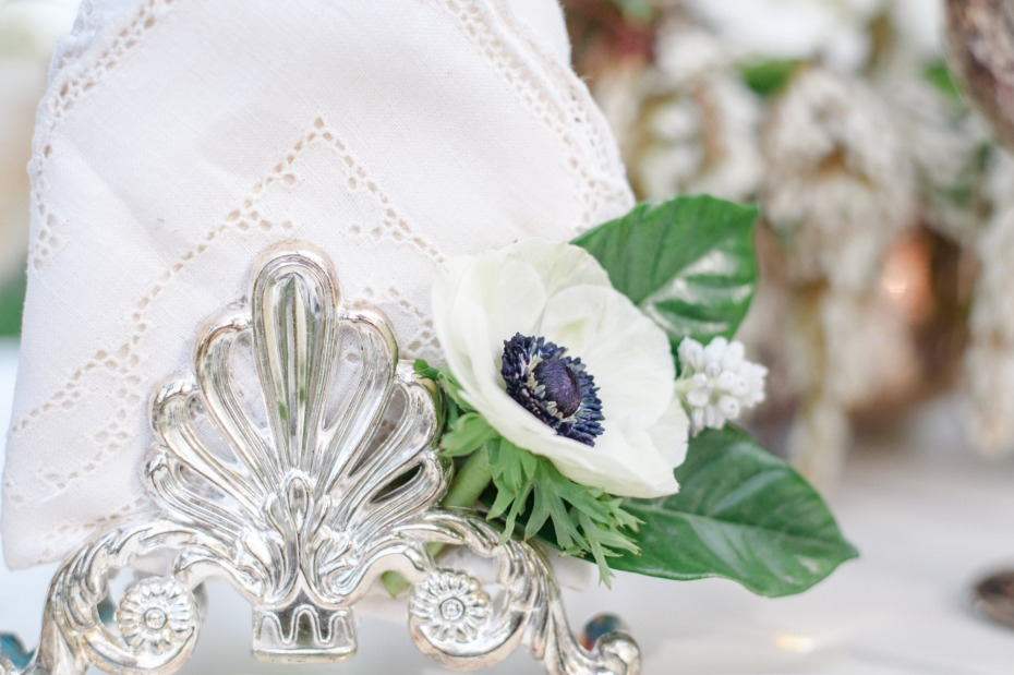table decor for your french garden wedding