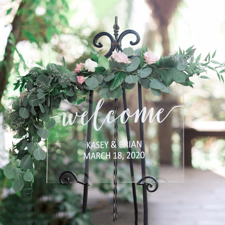 Wedding sign from Z Create Design