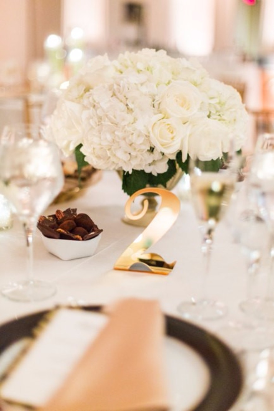 Cute table numbers from Z Create Designs